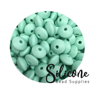 Silicone Bead Supplies - 11d mint