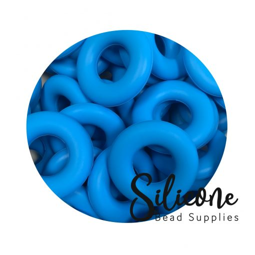Silicone Bead Supplies - 12e sky blue