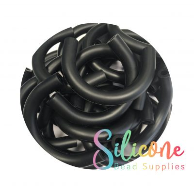 Silicone Bead Supplies - 1a black