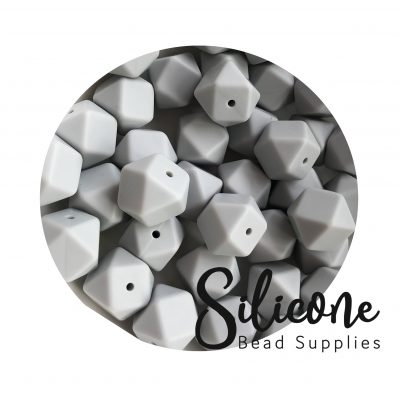 Silicone Bead Supplies - 2c Dove Grey