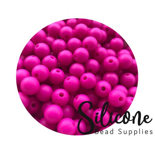Silicon-Bead-Supplies | hot pink