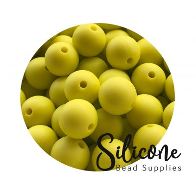 Silicon-Bead-Supplies | lime yellow