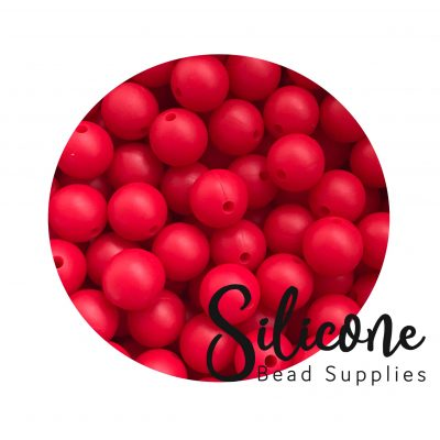 Silicon-Bead-Supplies | strawberry red