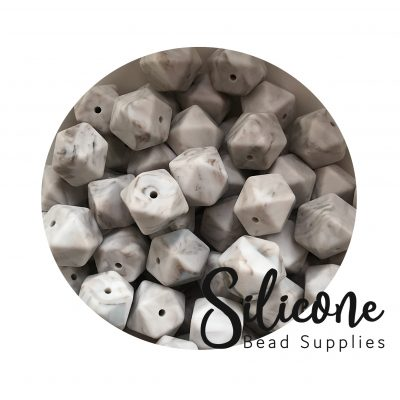 Silicon-Bead-Supplies | warm marble grey