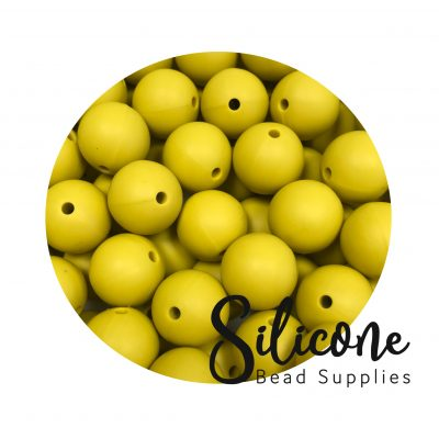 10 a mustardd | Silicone Bead Supplies