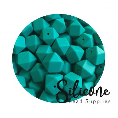 Silicone Bead Supplies - 11 b emerald green