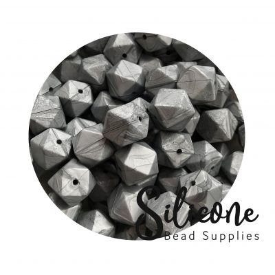 Silicon Bead Supplies | Metallic Silver 1141