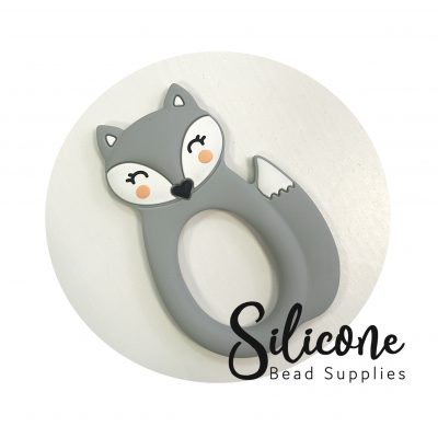 Grey fox | Silicone Bead Supplies
