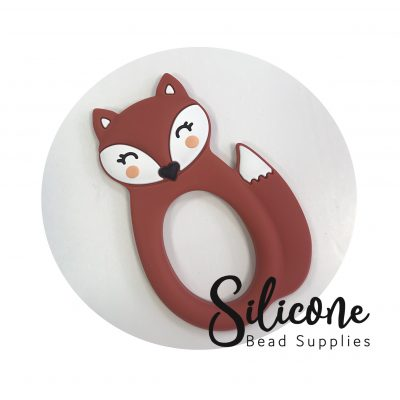 Maroon fox | Silicone Bead Supplies