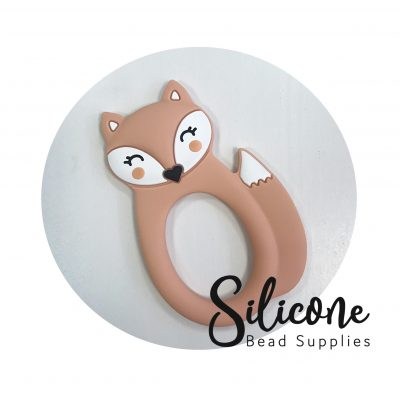 Peach fox | Silicone Bead Supplies