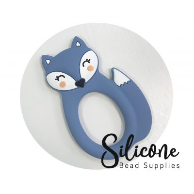 Powder blue fox | Silicone Bead Supplies