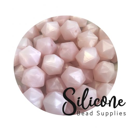 x5f pearl pink   Silicone Bead Supplies