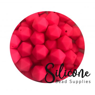 x6d neon pink | Silicone Bead Supplies