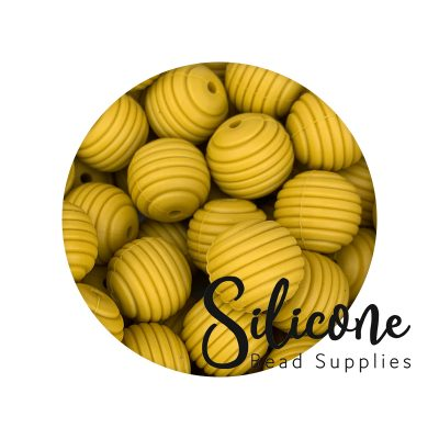 beehive beads 10a mustard